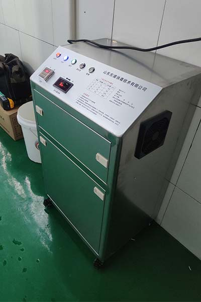 二氧化氯空气消毒机展示